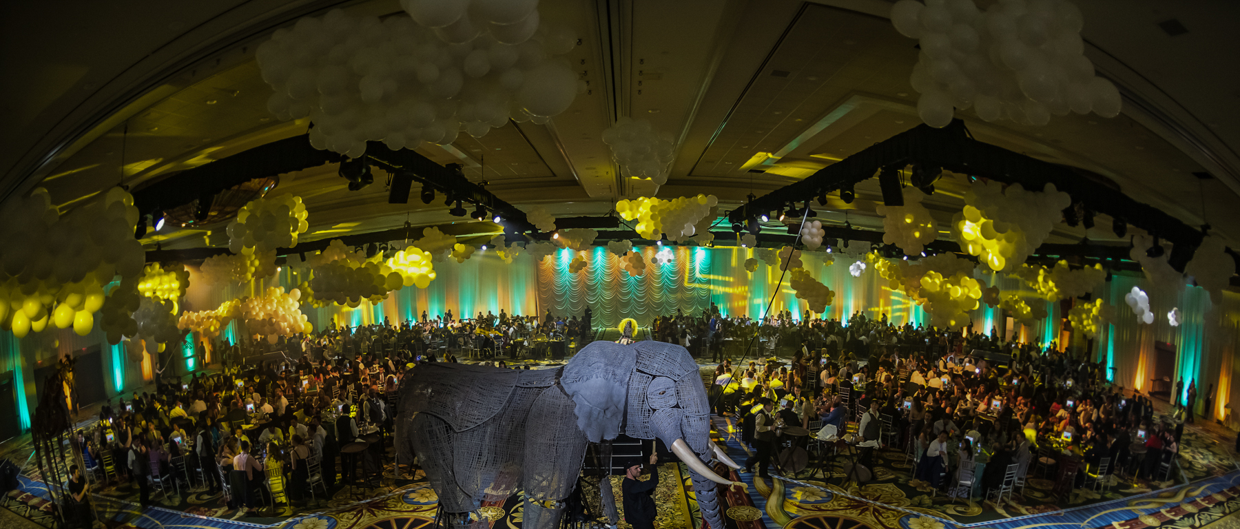 Dinner in 5 countries in under two hours: an Unbridled event management story